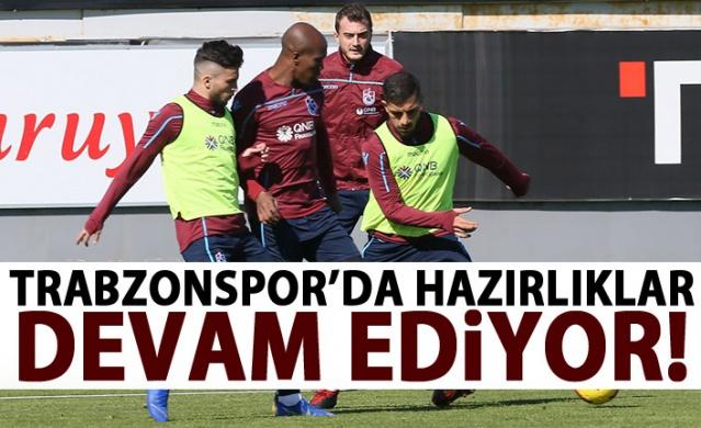 Trabzonspor'da Göztepe maçı hazılıkları sürüyor