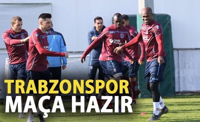 Trabzonspor Göztepe maçına hazır!