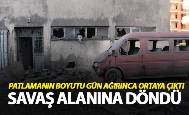 Trabzon'da patlamanın boyutu gün ağırınca ortaya çıktı