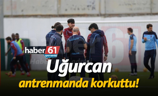 HABER61 - SPOR SERVİSİ  Trabzonspor Süper Lig'in 25. haftasında karşılaşacağı BB Erzurumspor maçı hazırlıklarına devam etti.