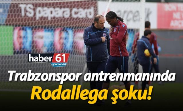 Trabzonspor'da Rodallega şoku!