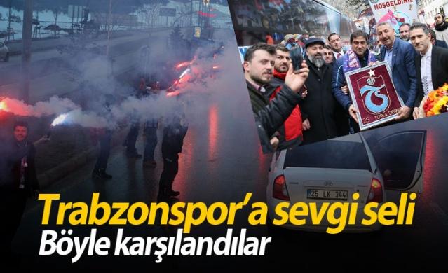 Trabzonspor'a sevgi seli