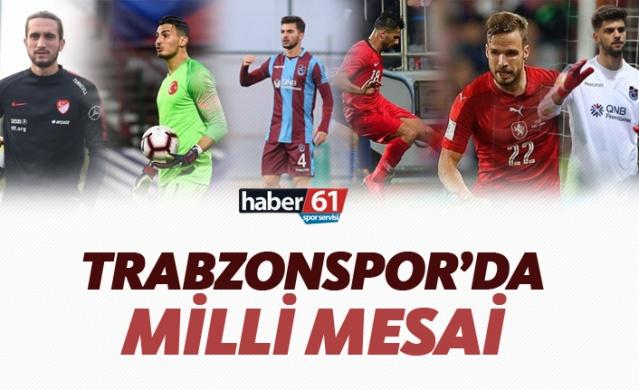 Trabzonspor'da milli mesai