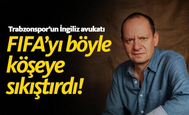 Trabzonspor'un İngiliz avukatı bu sözlerle savundu