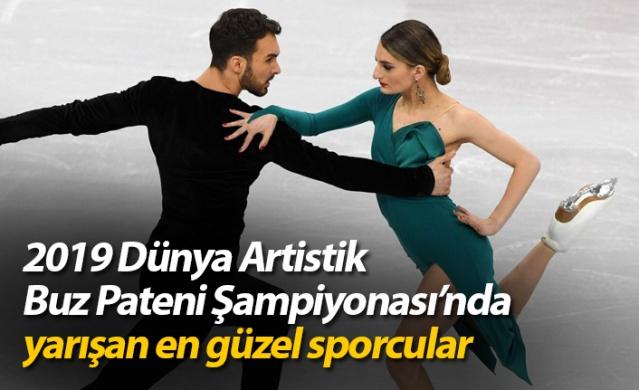2019 Dünya Artistik Buz Pateni Şampiyonası'nda yarışan en güzel sporcular