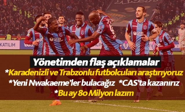 Trabzonspor Karadenizli futbolcuların peşinde!