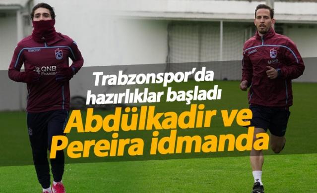 Trabzonspor'da Antalya hazırlıkları başladı