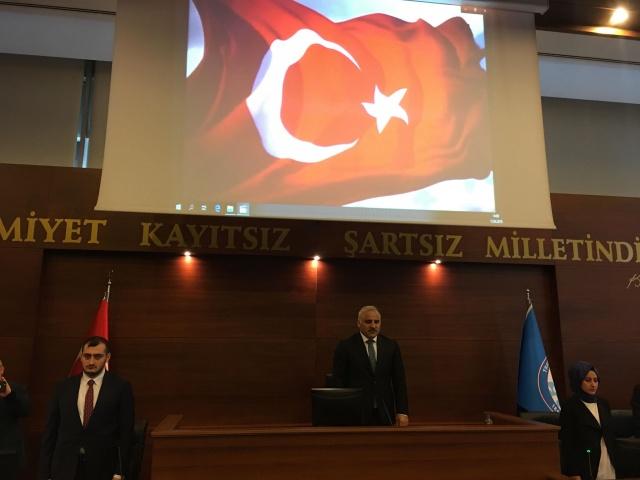 Trabzon BB. Meclis Toplantısı'ndan Görüntüler
