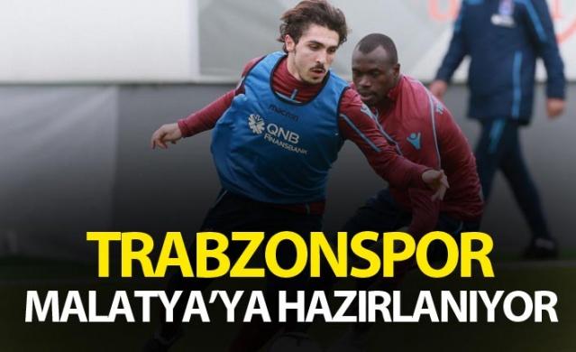 Trabzonspor Malatya'ya hazırlanıyor