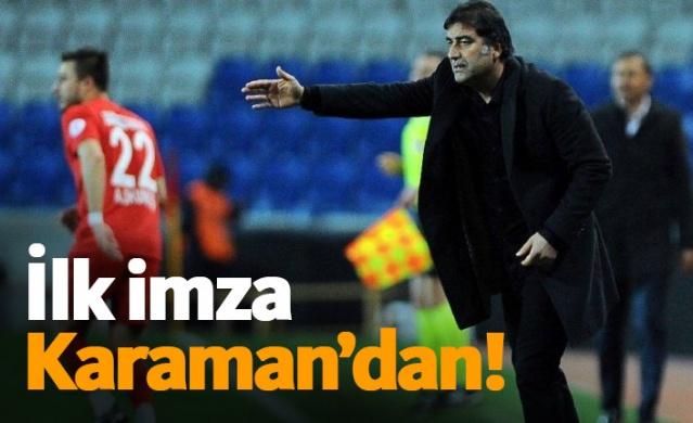 Trabzonspor'da ilk imza Karaman'dan