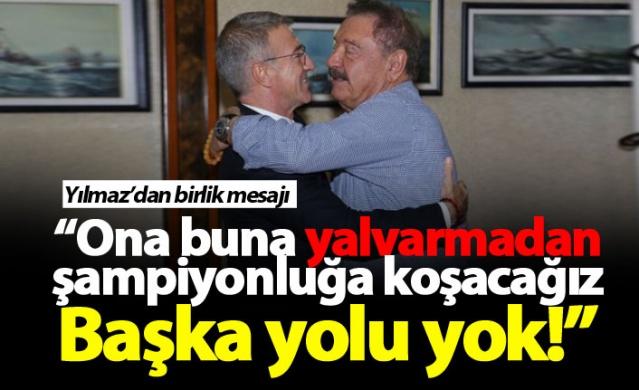 Mehmet Ali Yılmaz: Trabzonspor o ilkeye sahip çıkmalı...
