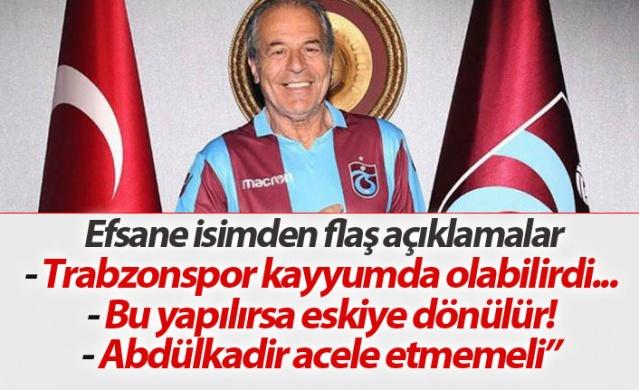 Denizci: Trabzonspor kayyumda olabilirdi...