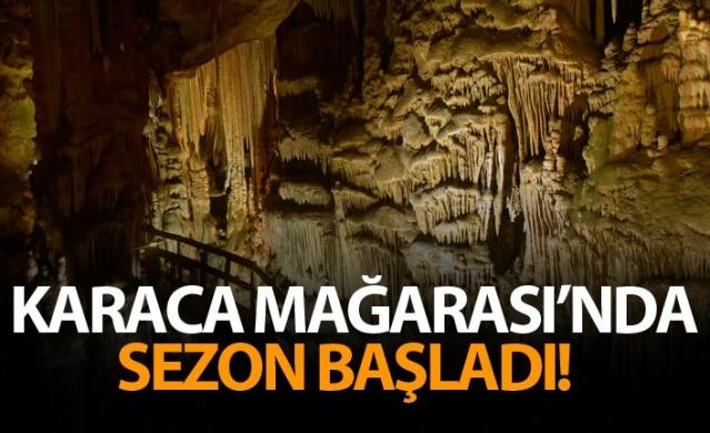 Karaca Mağarası'nda sezon başladı!