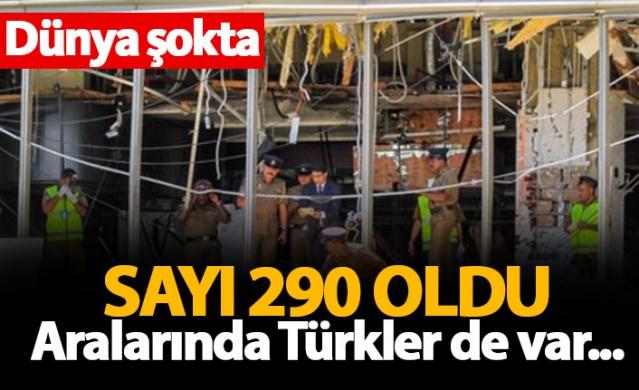 Dünya şokta! Ölü sayısı 290 oldu