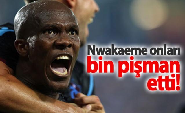 Steaua Bükreş'in fiyatı fazla bularak zamanında transfer etmediği Nwakaeme'nin, Trabzonspor'daki müthiş performansının Rumenleri pişman ettiği belirtildi.