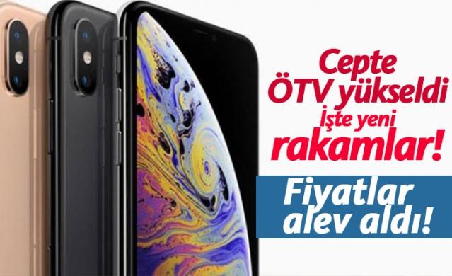 Cep telefonlarında ÖTV arttı, işte yeni rakamlar!