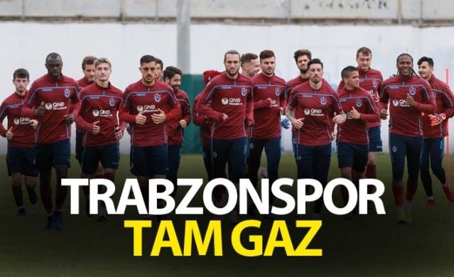 Trabzonspor tam gaz