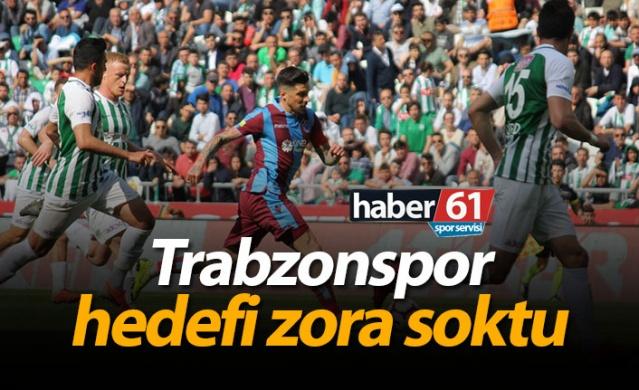 Trabzonspor hedefi zora soktu