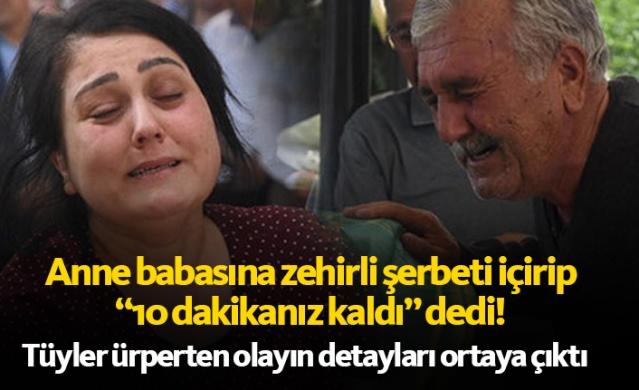 İzmir'in Bayraklı ilçesinde, annesi Fatma ve babası Mehmet Kalkan'ı, içine siyanür koyduğu şerbeti içirerek öldüren Dokuz Eylül Üniversitesi Kimya Bölümü öğrencisi Mahmut Can Kalkan'a, sağlık raporu için götürüldüğü hastanede 'şizofreni' tanısı konuldu.