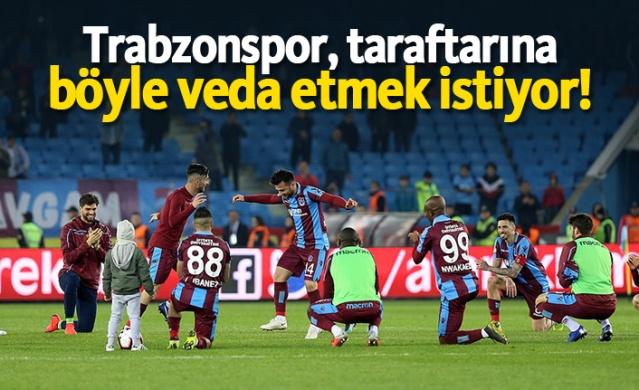 Spor Toto Süper Lig'in 33. haftasında Beşiktaş'ı konuk edecek olan Trabzonspor, 10 maçlık yenilmezlik serisini sürdürmek isterken, bu sezon sahasında oynayacağı son maçı kazanarak taraftarlarına veda etmeyi hedefliyor.