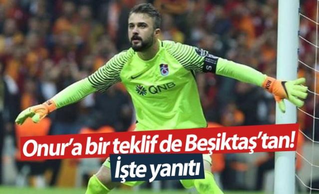 Beşiktaş'ın futbol kariyerini sonlandıran Onur Kıvrak'a teklif götürdüğü ortaya çıkarken 31 yaşındaki kaleci, Siyah-Beyazlıların teklifini reddetti.