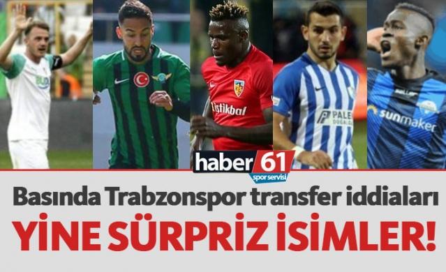 Haber61 Spor Servisi   Trabzonspor için basında bugün hangi isimler yazıldı, hangi transfer iddiaları gündeme getirildi? İşte Trabzonspor transfer haberleri