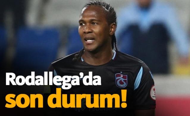 Trabzonspor'un kurmayları, iyi bir sezon geçiren ve mukavelesi sona eren Rodallega ile masaya oturdu ancak bu görüşmeden kesin bir sonuç çıkmadı çünkü Kolombiyalı son karar için süre talep etti.