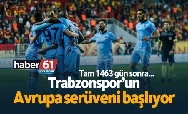HABER61 - SPOR SERVİSİ  Trabzonspor, bu sezon gösterdiği performansla UEFA Avrupa Ligi elemelerine katılamaya hak kazandı. Avrupa Ligi'ne 3. Ön Eleme Turu'ndan katılacak olan Bordo-Mavililer, 22 Temmuz'da çekilecek kura sonrası ilk maçına 8 Ağustos'da çıkacak.