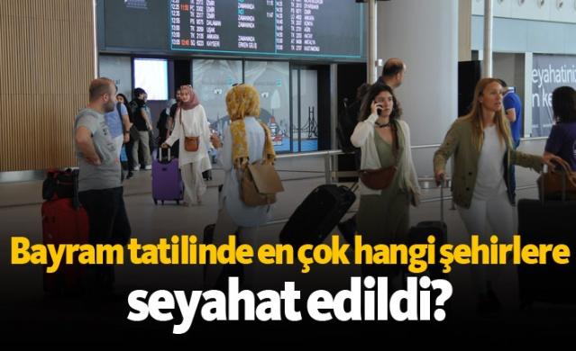 Ramazan Bayramı tatilinin son gününde İstanbul Havalimanı'nda uçakların iniş kalkış rekoru kırıldı. Yoğunluk yaşanan havalimanında bugün bin 294 iniş kalkış ile rekor kırıldı.