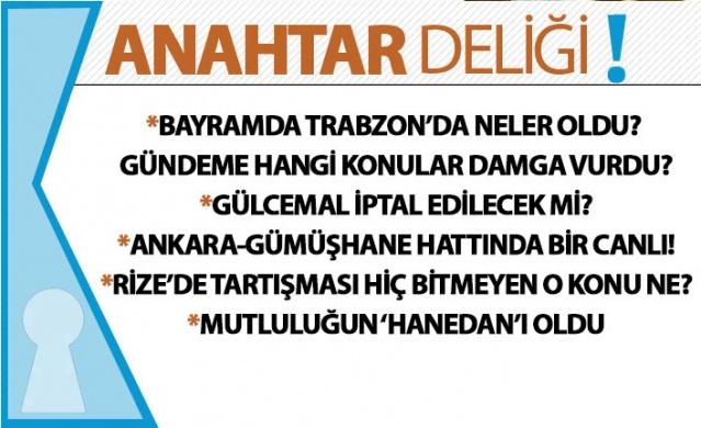 Trabzon kulislerinden yansıyanlar.