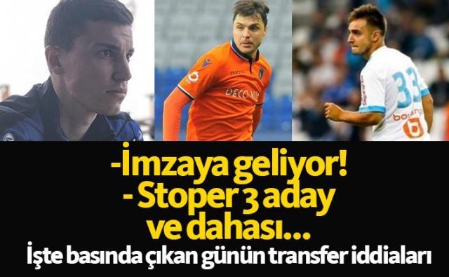 Haber61 Spor Servisi   Trabzonspor için basında bugün hangi isimler yazıldı, hangi transfer iddiaları gündeme getirildi? İşte günün Trabzonspor transfer haberleri;