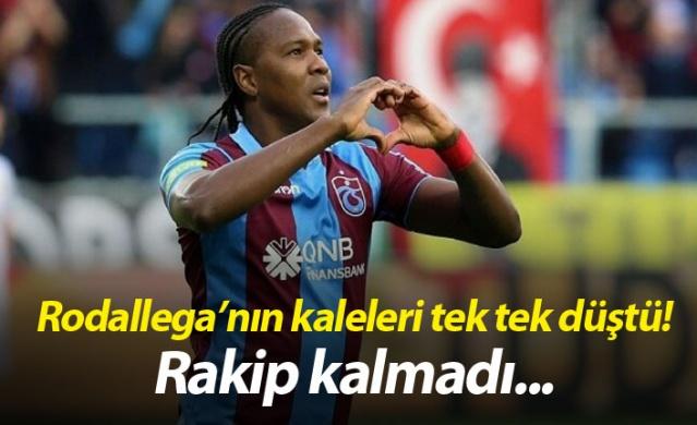 Trabzonspor'un cevap beklediği Hugo Rodallega'nın transferi için bordo mavili ekibin önünde rakip kalmadı.