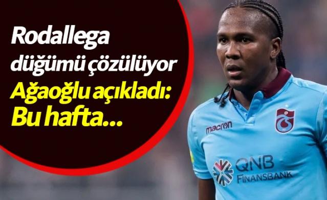 Trabzonspor Rodallega sorununa bu hafta son noktayı koyacak