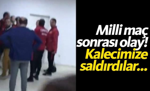 Kosova'nın başkenti Priştine'de dün akşam Kosova ile Türkiye'nin Ümit Milli Takımları arasında oynanan maç sonrası Türk kaleci Altay Bayındır'ın stat görevlileri tarafından saldırıya uğradığı belirtildi.
