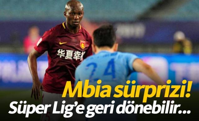 Mbia sürprizi! Süper Lig'e dönebilir