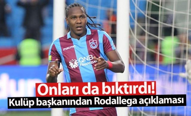 Trabzonspor'da sözleşmesi sona eren ve henüz yapılan teklife yanıt vermeyen Rodallega, kendisine teklifte bulunan Denizlspor'u da bıktırdı.