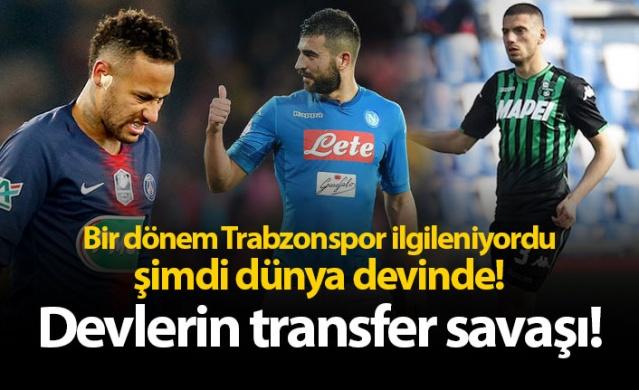 Bir dönem Trabzonspor ilgileniyordu, şimdi dünya devinde!