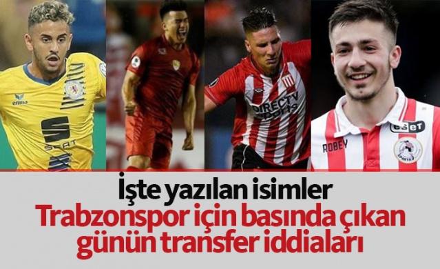 Trabzonspor transfer haberleri - 20.06.2019