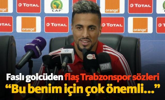 Faslı golcü Rachid Alioui'den flaş Trabzonspor açıklaması