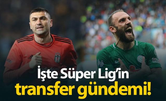 İşte Süper Lig'in transfer gündemi!