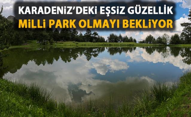 Limni Gölü tabiat parkı olmayı bekliyor!