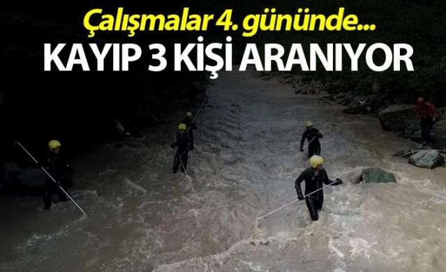 Araklı'da kayıp 3 kişi aranıyor