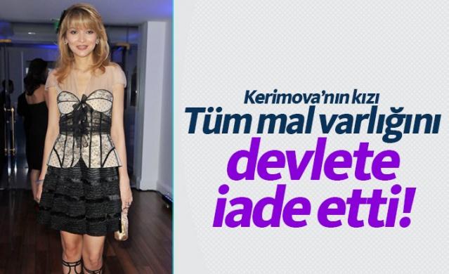 """Eski Özbekistan Cumhurbaşkanı İslam Kerimov'un kızı Gülnara, ülkedeki 1,2 milyar dolarlık yatırımlarının devletin kontrolüne geçtiğini, yurt dışındaki paralarının da geri getirilmesi için çaba gösterdiğini açıkladı. Gülnara Kerimova yaptığı açıklamada, """"Halkımdan, beni anlayan ve saygı duyan tüm insanlardan özür dilerim."""" dedi."""