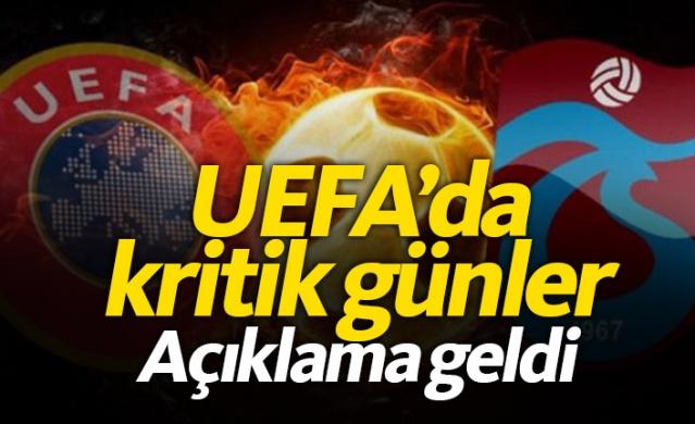 Trabzonspor için UEFA'da kritik günler