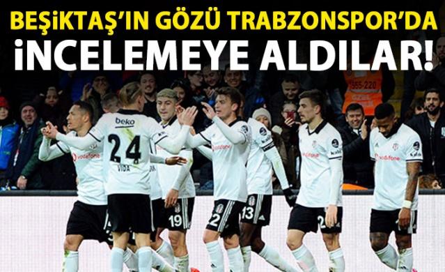 Beşiktaş, Trabzonspor'un altyapı çalışmalarını incelemeye aldı.