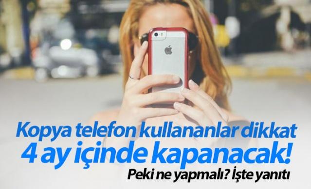 Kopyalanmış IMEI'ye sahip telefonlar nasıl kayıt altına alınır?