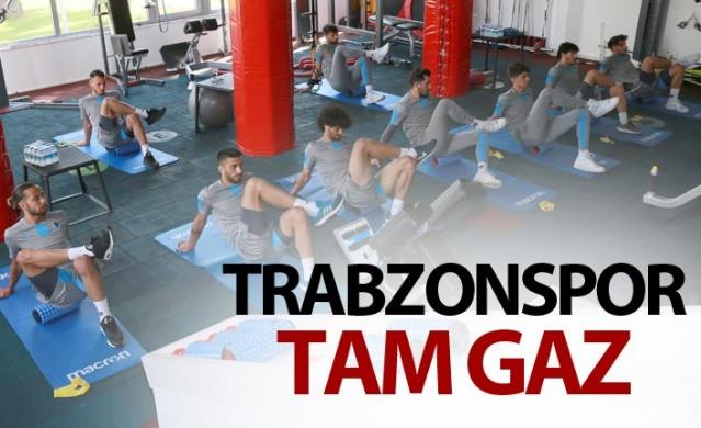 Trabzonspor tam gaz.