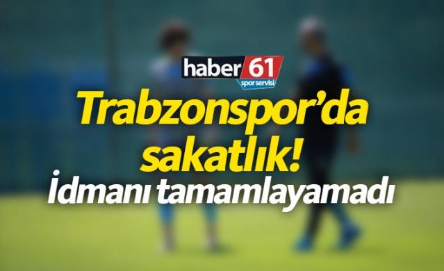 Haber61 Spor Servisi  Trabzonspor'da genç oyuncu Cafer Tosun sakatlık yaşadı