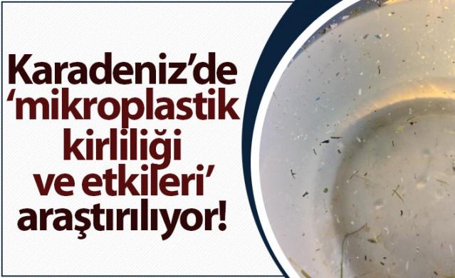 """Recep Tayyip Erdoğan Üniversitesi (RTEÜ) Karadeniz Araştırma Gemisi yedi gün süren """"Karadeniz Mikroplastik Seferi""""nden döndü."""