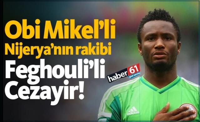 HABER61 - SPOR SERVİSİ  Trabzonspor'un yeni transferi Obi Mikel, Milli Takımı ile Afrika Uluslar Kupası'nda mutlu sona ulaşmak için mücadele ediyor.